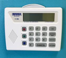 Alarm system keypads