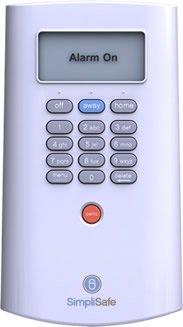 SimpliSafe security keypad