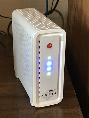 Internet alarm monitoring - High-Speed Cable Modem