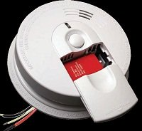 Kidde 120-Volt Wired-In Smoke Detector
