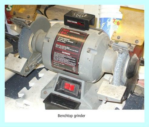 Craftsman 8-inch bench grinder