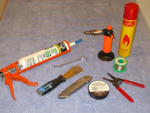 Magnetic door switch tools needed