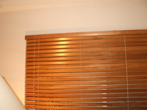 Re-install window covering