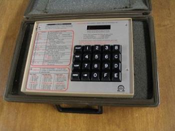 Radionics Alarm Systems - Radionics D5000 Programmer at Obsoleteradionics.com