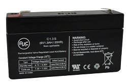 GE Simon XT 6V 1.3AH Alarm Battery