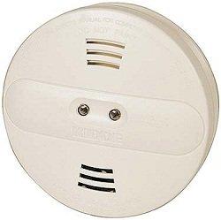Smoke Detector Spy Camera, Color, Hardwire