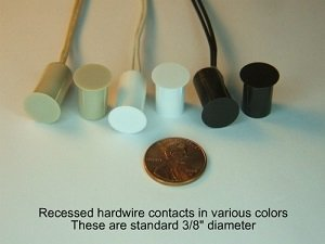Hardwire contacts - Recessed