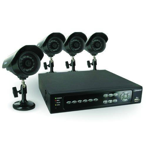 Video security camera system, DIY home alarm system