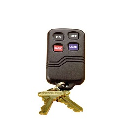 Wireless Burglar Alarm Systems - Wireless Keyfob Remote